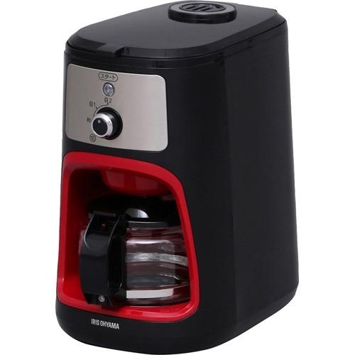 10000円以上送料無料 アイリスオーヤマ 全自動コーヒーメーカー IAC-A600 ブラック(1台) 家電 調理家電 コーヒーメーカー レビュー投稿で次回使える2000円クーポン全員にプレゼント