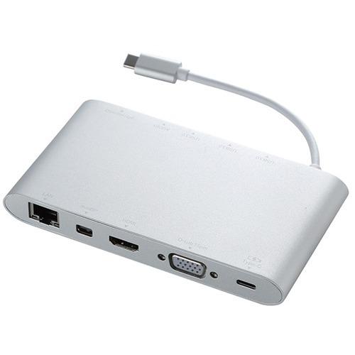 10000円以上送料無料 エレコム USB Type-C接続ドッキングステーション PD対応 シルバー DST-C01SV(1コ入) 家電 情報家電 パソコンサプライ レビュー投稿で次回使える2000円クーポン全員にプレゼント