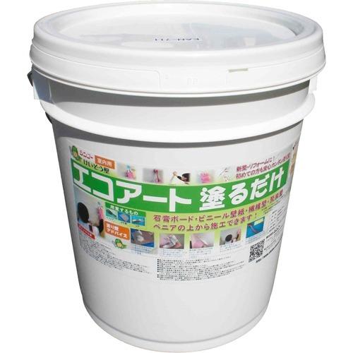 10000円以上送料無料 シンコー エコアート塗るだけ EAN 711 フローラルホワイト(18kg) DIY・ガーデン 接着剤・塗料・オイル 塗料・塗装用品 レビュー投稿で次回使える2000円クーポン全員にプレゼント