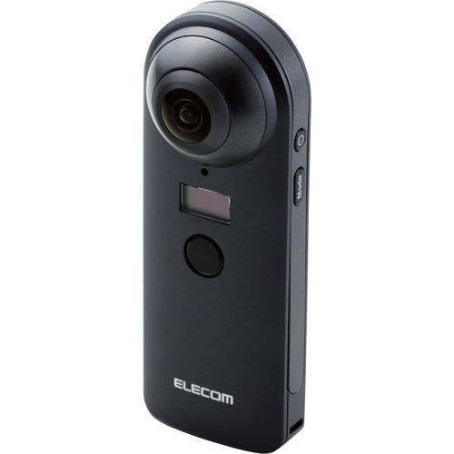 10000円以上送料無料 エレコム 4K対応VRカメラ OMNI shot OCAM-VRW01BK(1台) 家電 情報家電 パソコンサプライ レビュー投稿で次回使える2000円クーポン全員にプレゼント