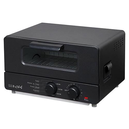 10000円以上送料無料 スチームトースター シェフ ブラック ST-70091(BK)(1台) 家電 調理家電 オーブントースター・トースター レビュー投稿で次回使える2000円クーポン全員にプレゼント