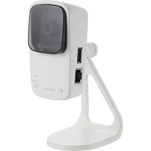 10000円以上送料無料 エレコム 中継機能付き ネットワークカメラ NCC-EWF100RMWH2(1台) 家電 光学機器 カメラ・ビデオカメラ レビュー投稿で次回使える2000円クーポン全員にプレゼント