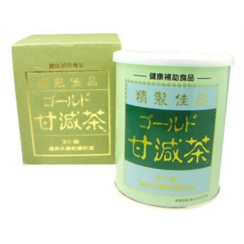 10000円以上送料無料 ゴールド甘減茶(5g*30袋入) 健康食品 健康茶 ブレンド茶 レビュー投稿で次回使える2000円クーポン全員にプレゼント