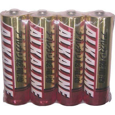 レビュー投稿で次回使える2000円クーポン全員にプレゼント 三菱 アルカリ単3電池4本P(100パックセット) LR6R4S-SET100 【生活家電\電池類\乾電池\アルカリ乾電池\単3形】