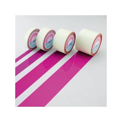 レビュー投稿で次回使える2000円クーポン全員にプレゼント 日本緑十字社 ガードテープ 赤紫 100mm幅×100m (148141) GT-101RP 【生活家電\電線(ケーブル)】