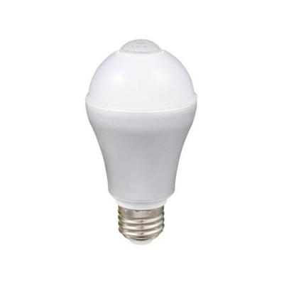 レビュー投稿で次回使える2000円クーポン全員にプレゼント ルミナス 【ケース販売 6個セット】LED電球 人感センサータイプ 直下重視タイプ 電球色 60W形相当 全光束827lm E26口金 LVA60L-HS_set 【生活家電\LEDランプ\LED電球】