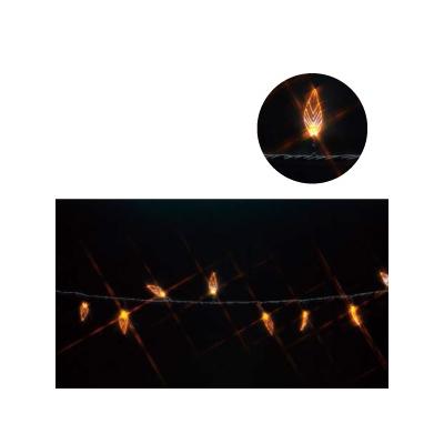 レビュー投稿で次回使える2000円クーポン全員にプレゼント ジェフコム LEDストリング リーフ型 10m (黄/黄) SJ-E05LF-10YY 【生活家電\照明器具・部材\照明器具\イルミネーションライト\LEDストリング】