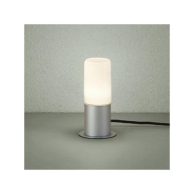 レビュー投稿で次回使える2000円クーポン全員にプレゼント DAIKO LEDアプローチ灯 ランプ付 防雨形 白熱灯60W相当 非調光タイプ 6.6W 口金E26 高さ285mm キャプタイヤコード5m付 差込プラグ付 電球色タイプ シルバー DWP-38628Y 【生活家電\照明器具・部材\照明器具\ガーデン