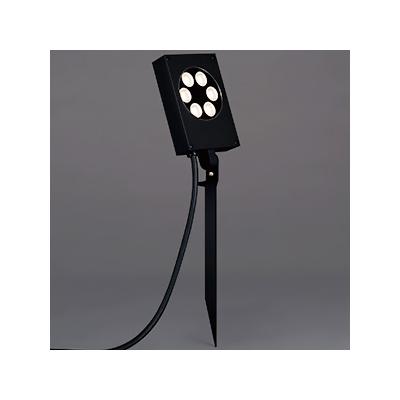 レビュー投稿で次回使える2000円クーポン全員にプレゼント 山田照明 LED一体型薄型スポットライト 防雨型 スパイク式 非調光 ダイクロハロゲン50W相当 電球色 配光角度37° キャブタイヤケーブル5.0mプラグ付 AD-2653-L 【生活家電\照明器具・部材\照明器具\LEDスポットライ