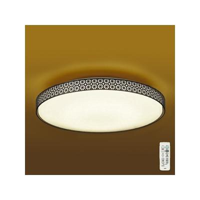 レビュー投稿で次回使える2000円クーポン全員にプレゼント DAIKO LED和風シーリングライト ~8畳 調色・調光タイプ(昼光色~電球色) クイック取付式 リモコン・プルレススイッチ付 DCL-39278 【生活家電\照明器具・部材\照明器具\LEDシーリングライト\AGLED】