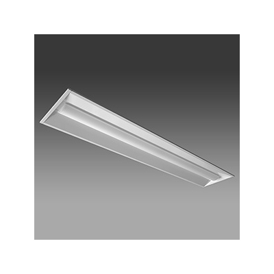 レビュー投稿で次回使える2000円クーポン全員にプレゼント NEC LED一体型ベースライト 《Nuシリーズ》 40形 埋込形 下面開放形 190mm幅 4000lm 固定出力方式 FLR40×2灯相当 昼光色 MEB4102/40D4-N8 【生活家電\照明器具・部材\照明器具\ベースライト】