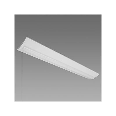 レビュー投稿で次回使える2000円クーポン全員にプレゼント NEC LED一体型ベースライト 《Nuシリーズ》 40形 直付形 逆富士形 230mm幅 2500lm 固定出力方式 FHF32定格出力×1灯相当 昼白色 プルスイッチ付 MVB4103P/25N4-N8 【生活家電\照明器具・部材\照明器具\ベースライト