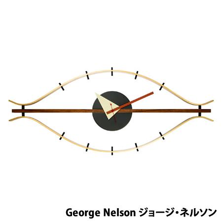 【代引不可】ジョージネルソン ネルソンクロック アイクロック ミッドセンチュリー デザイナーズ リプロダクト 時計 クロック