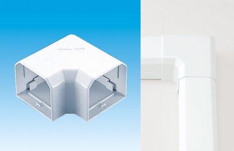 送料無料 因幡電工 配管化粧カバー 激安 NEW MD平面コーナー90度 エアコン部材 工事 MK-85 10個入