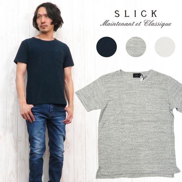 スリック SLICK Tシャツ 半袖 ランダムパイル 5252916