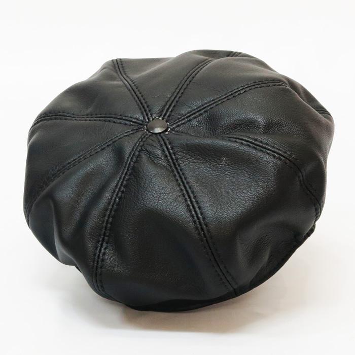 ラングリッツレザーズ Langlitz Leathers 8パネル ゴートスキン ベレー帽 8Panel beret 山羊革 レザー