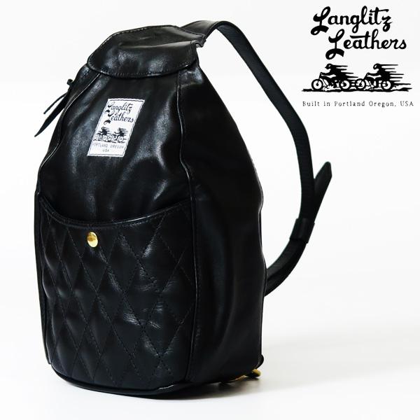 ラングリッツレザーズ Langlitz Leathers パッデッド ワンショルダー バッグ Padded One Shoulder Bag レザー ショルダーバッグ ボディバッグ 革 バイク
