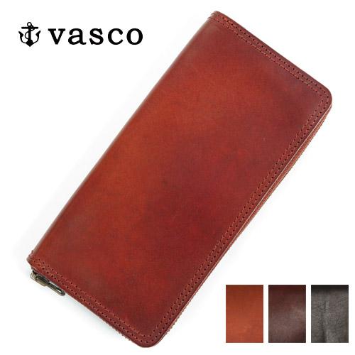 バスコ VASCO 国産 レザー トラベル ラウンドジップ ロング ウォレット ハンドメイド MADE IN JAPAN ヴァスコ VS-701Z