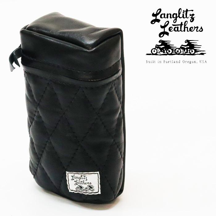 ラングリッツレザーズ Langlitz Leathers 1930s H-D Tool Box Bag レザー ツール ボックス バッグ ポーチ 牛革 ハーレー ダビッドソン