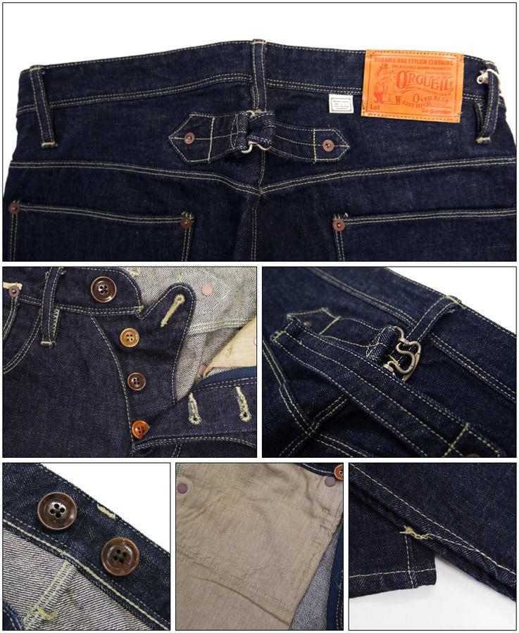 奥格奥格泰勒牛仔裤定期直 13 盎司津巴布韦棉斜纹粗棉布牛仔裤或-065