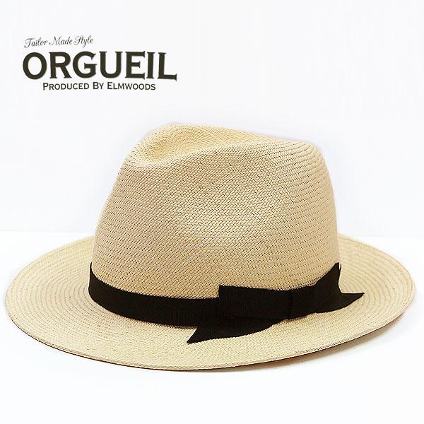 ORGUEIL オルゲイユ パナマハット エクアドル産 PANAMA HAT OR-7063
