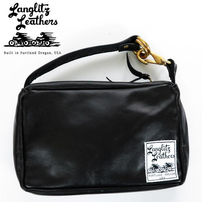ラングリッツレザーズ Langlitz Leathers コンバーチブル バッグ Mサイズ Convertible Bag レザー ショルダーバッグ ハンドバッグ ツールバッグ ポーチ 革 バイク