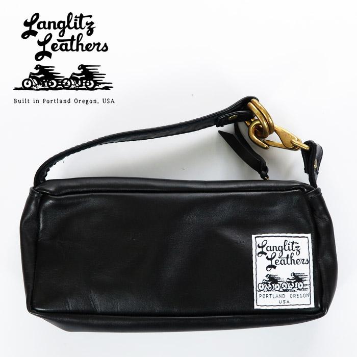 ラングリッツレザーズ Langlitz Leathers コンバーチブル バッグ Sサイズ Convertible Bag レザー ショルダーバッグ ハンドバッグ ツールバッグ ポーチ 革 バイク