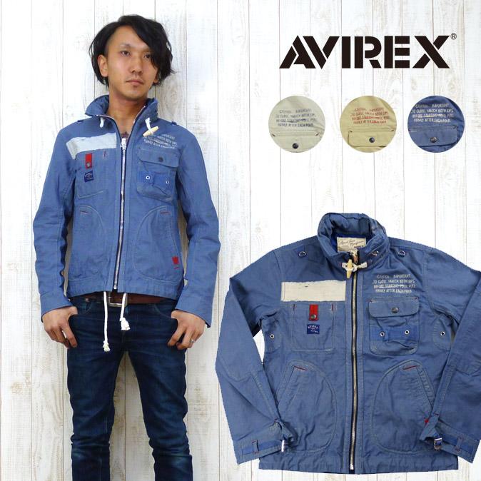 AVIREX アビレックス アヴィレックス ジャケット シップビルダー マリン ミリタリー ジップアップ 6132018