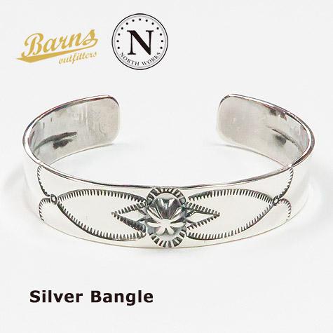 バーンズ BARNS × ノースワークス NORTH WORKS シルバーバングル BR-6963
