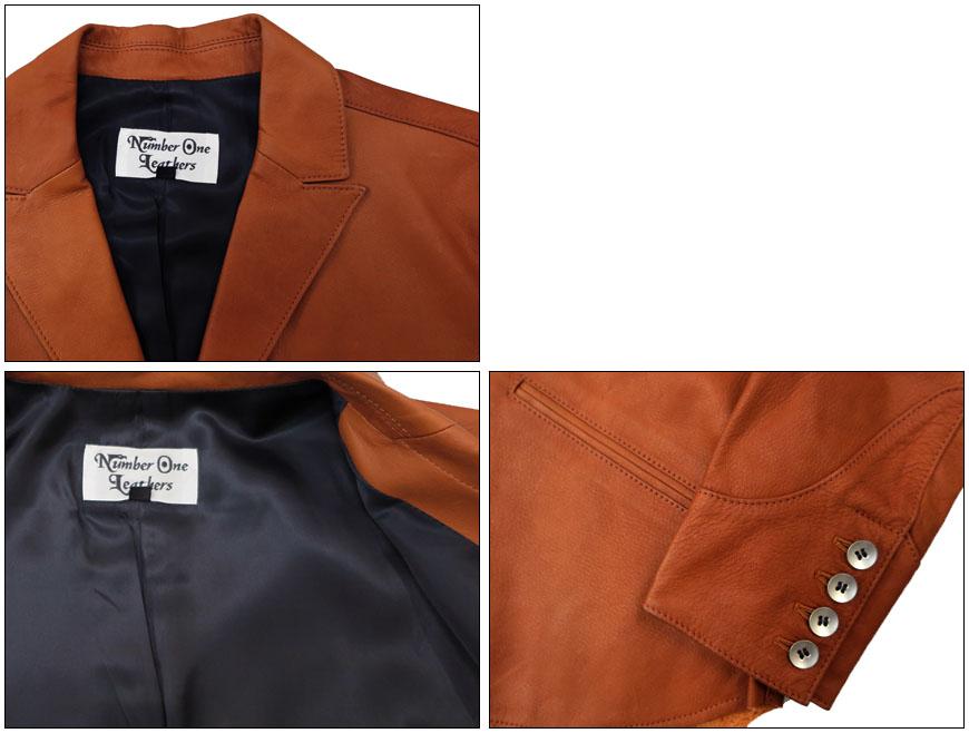由 REDMOON 雷德蒙 コンチネンタルレザー 一号皮革定制衬衫外套