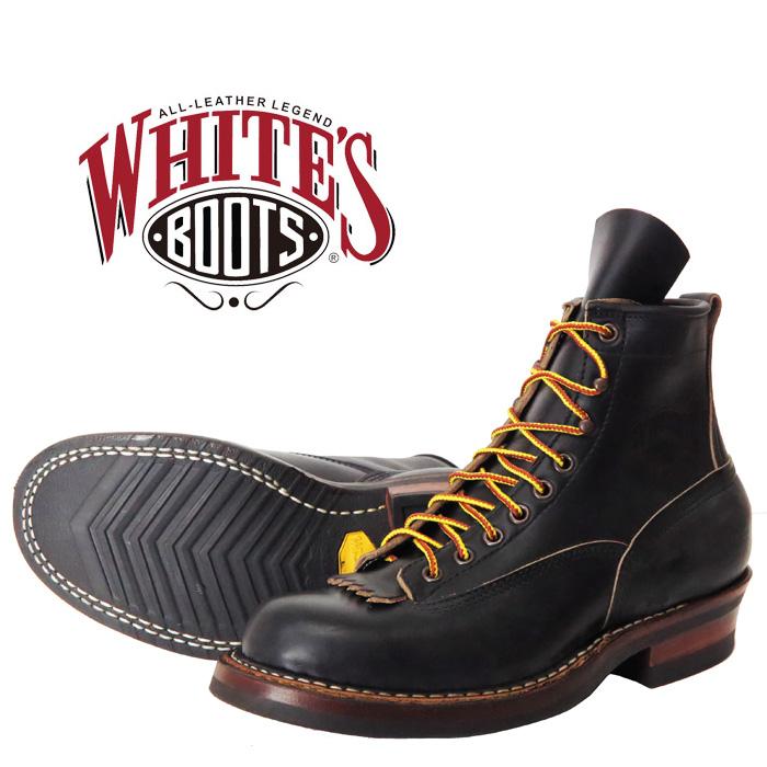 WHITE'S BOOTS ホワイツ ブーツ 6インチ スモークジャンパー 6inch SMOKE JUMPER クロムエクセルブラック ワークブーツ レザー