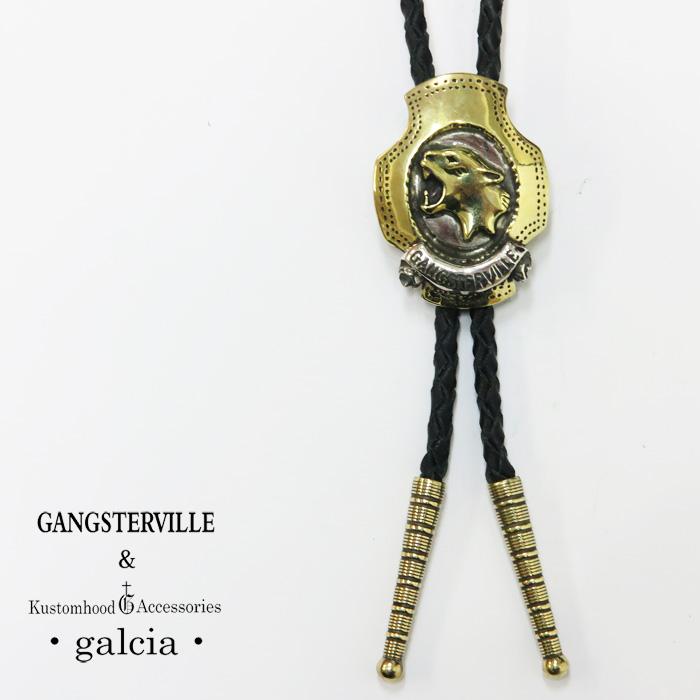 GANGSTERVILLE ギャングスタービル GALCIA ガルシア ループタイ ボロタイ ポーラータイ