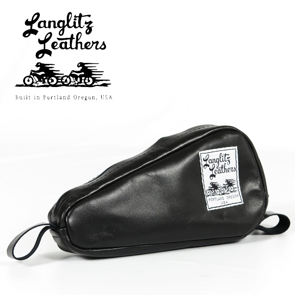 Lang Ritz Leather Langlitz Leathers Vintage H D Tool Bag Porch Motorcycle Harley Davidson
