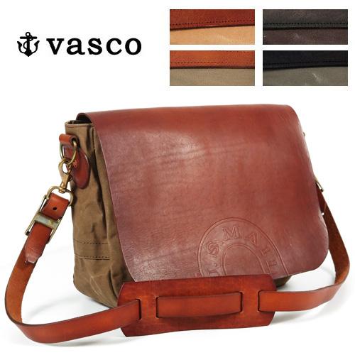 バスコ VASCO キャンバス レザー メイルバッグ MEDIUM ショルダーバッグ U.S.MAIL 刻印有 MADE IN JAPAN ヴァスコ VS-248-5P-S