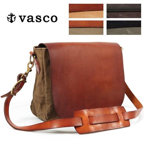 バスコ VASCO キャンバス レザー メイルバッグ MEDIUM ショルダーバッグ U.S.MAIL 刻印無 MADE IN JAPAN ヴァスコ VS-248-5P