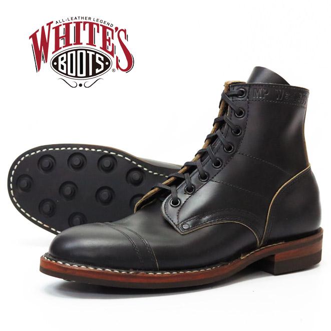 【即納在庫】 WHITE'S BOOTS ホワイツ ミリタリーポリス ブーツ エムピー ホーウィン クロムエクセル HORWEEN Chromexcel ブラック MP Military Police Service
