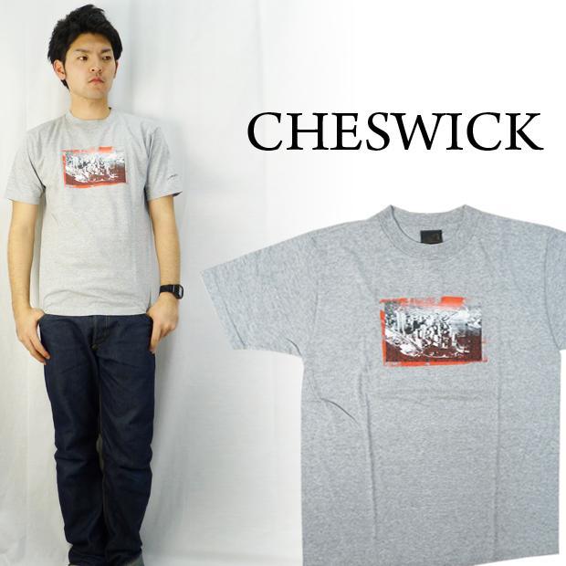CHESWICK チェスウィック ピグメントプリントS/S Tシャツ