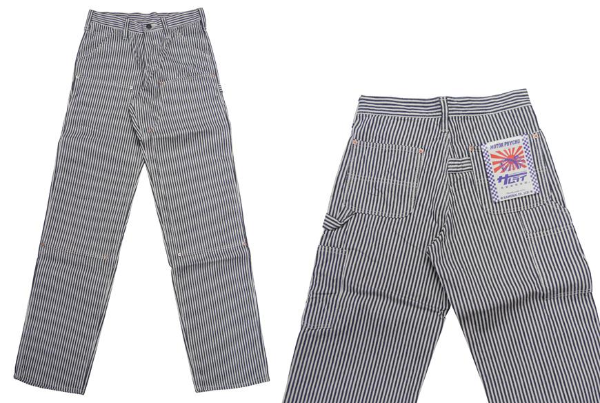 武士的牛仔裤武士牛仔裤 pettanko 画家裤山核桃条纹工作 SM310WX ST15