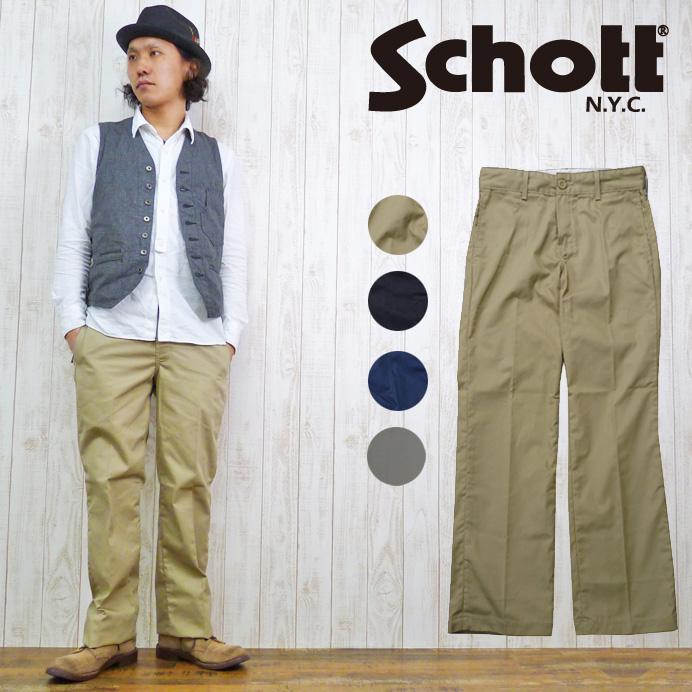 ショット Schott ワークパンツ T/C クロス 3126017