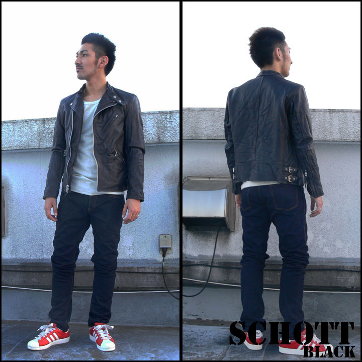 Earth Market | Rakuten Global Market: Shot Schott jacket ダブル ...