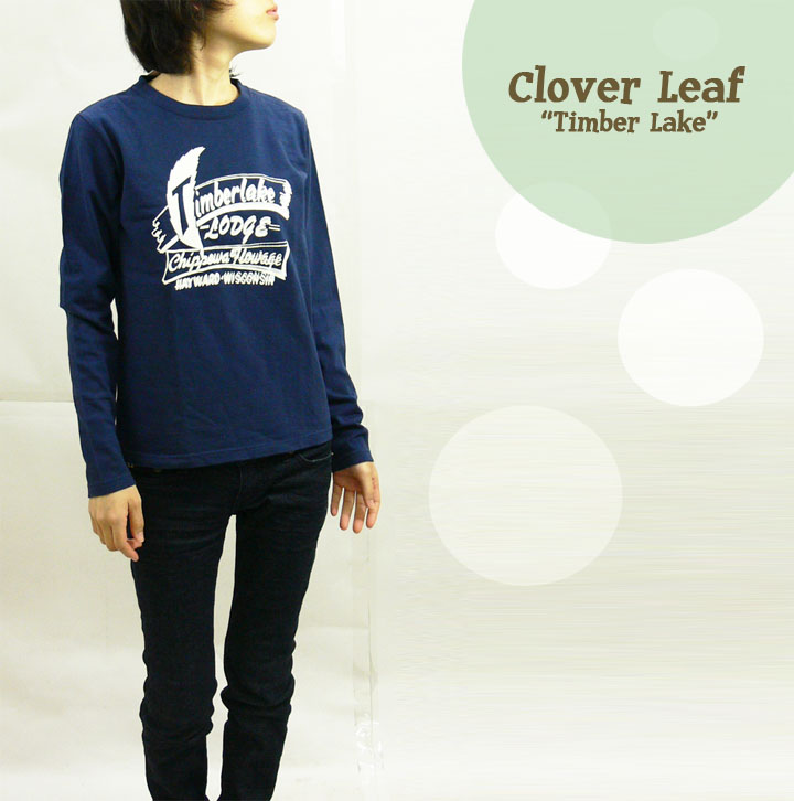 CLOVER LEARF クローバーリーフ リントTシャツ「TIMBER LAKE」