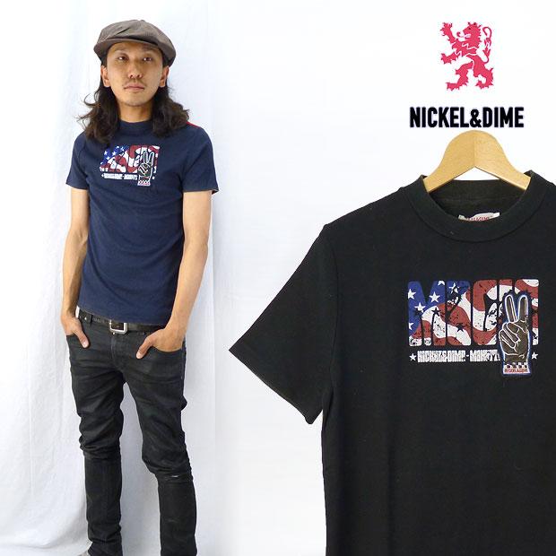 NICKEL&DIME ニッケル&ダイム S/S Tシャツ「MAGIC」