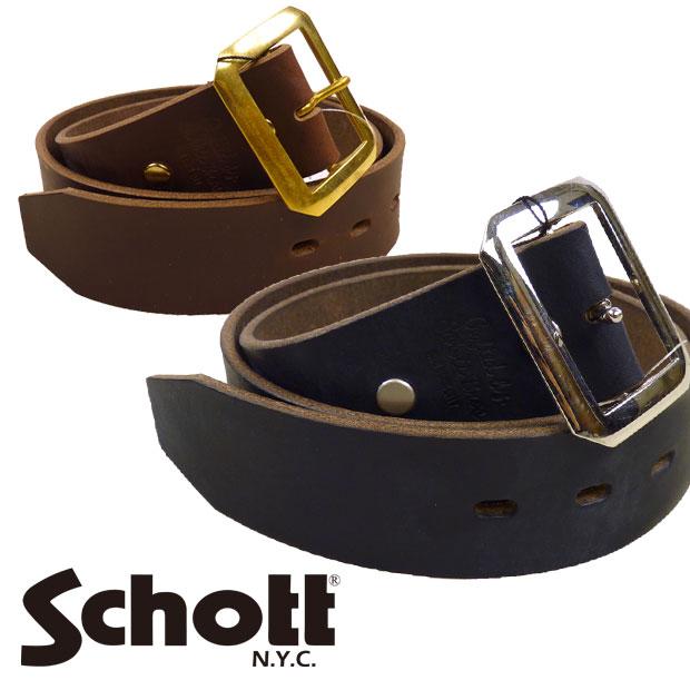 ショット Schott ベルト レザー