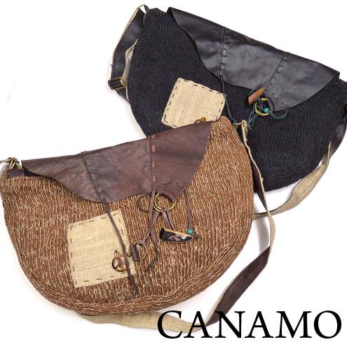 CANAMO カナモ メッセンジャーバッグ ショルダーバッグ ヘンプ