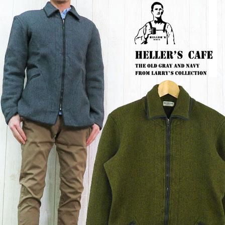 HELLER`S CAFE ヘラーズカフェ WAREHOUSE ジッパービーチジャケット