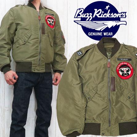バズリクソンズ Buzz Rickson's L-2 フライトジャケット 34th FIGHTER DAY BR13888