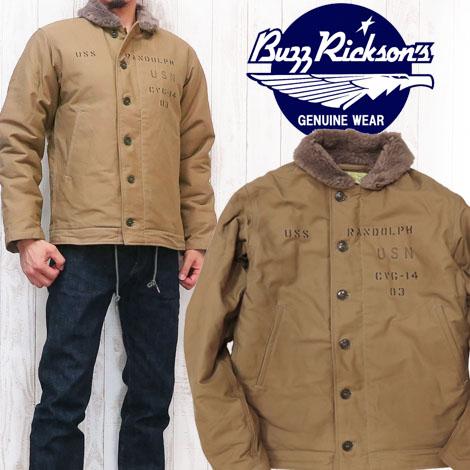 バズリクソンズ Buzz Rickson's デッキジャケット N-1 「NAVY DEPARTMENT」 BR13902