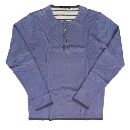 スリック SLICK 長袖 ヘンリーネック カットソー Tシャツ SLK5164503
