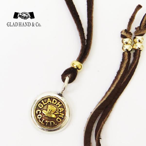 GLAD HAND グラッドハンド ボタンチャーム HAT SMALL シルバー925 銀 オリジナルチェンジボタン 真鍮 ブラス チョーカー ネックレス ペンダント