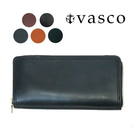 バスコ VASCO 英国産ブライドルレザー ラウンドジップ ロング ウォレット ハンドメイド MADE IN JAPAN ヴァスコ VSC-701ZBR